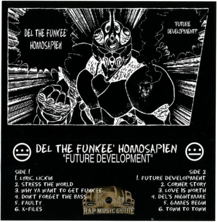 Del the Funky Homosapien - Future Development (OG Tape)